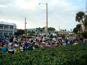 A surprising lively street festival in Vero Beach, Fla.