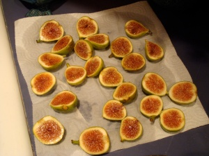 Blushing beauties: Kadota figs.
