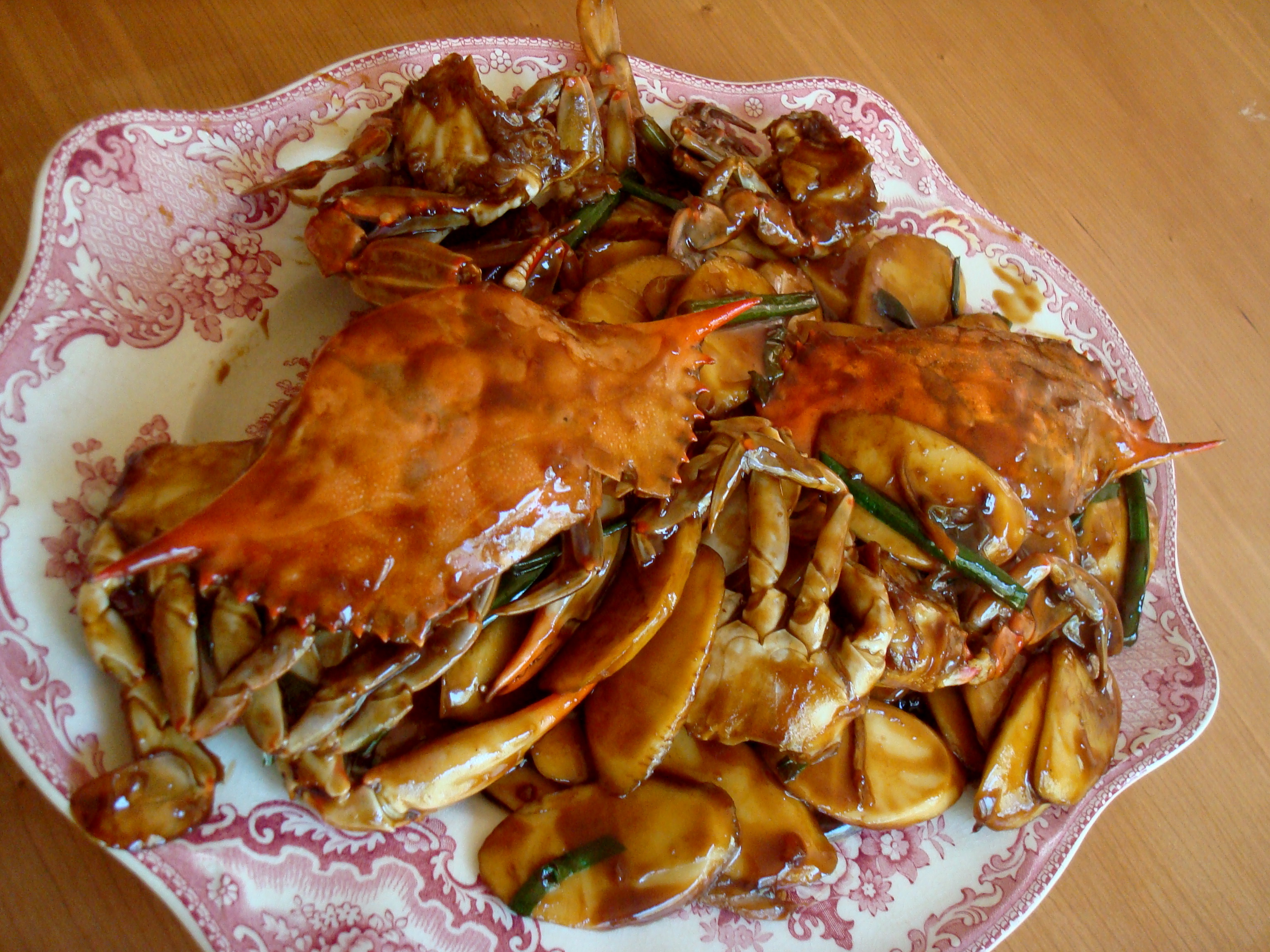 The Word Crab Cakes In French