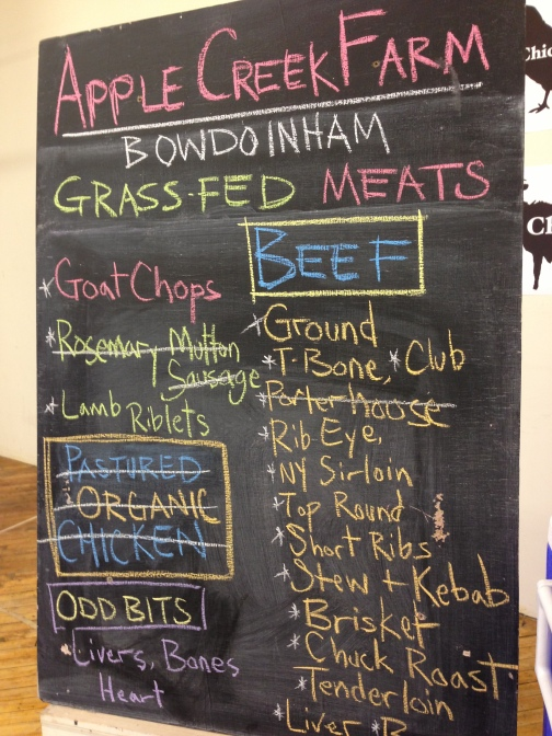 """""""Odd bits"""" such as kidneys are a great farmers' market find for those on a budget."""